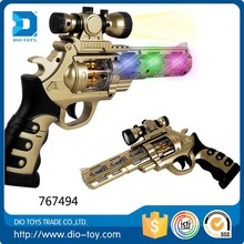 B/O Educational fiveshooter plastic toy pop gun