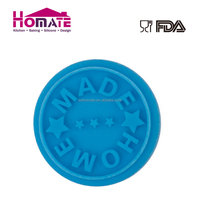 Home made Silicone cookies stamp cute custom design cookies stamp
