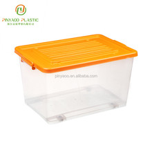 Various Color High Quality Stackable Waterproof Plastic Storage Box For Storage Clothes