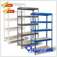 Heavy duty 5 tier shelf metal storage racks
