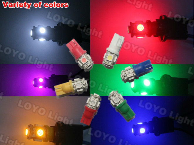 led auto bulb,w5w auto led lamp smd 5050 1210,led smd automotive lamp