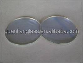 Optical tempered toughened AR Strong resistance to abrasion scratch borosilicate glass