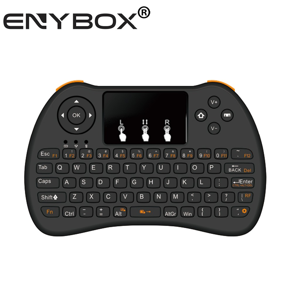 LCD air mouse I9 mini ENY 2.4g Mini I9 Wireless Computer Laptop Keyboard For Andriod,Ios,Windows