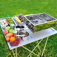 Household Outdoor Barbecue Table Top Portable Picnic Bbq Grill