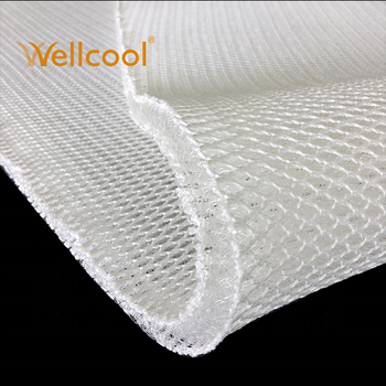 wellcool 15mm thickness 3d air mesh fabric mattress,mattress fabric