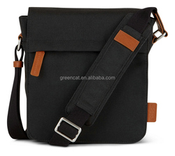 Shoulder for male in Japan youth plain canvas branded polo modern cheap men sling bags