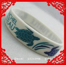 2013 fashion and popular silicone tattoo bracelet