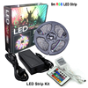 2016 Ce 5meters Flexible Rgb 5050 Non-Waterproof Rgbled Strip Light Kit With 6a Power Supply 24key Remote Led Strip Light Kit