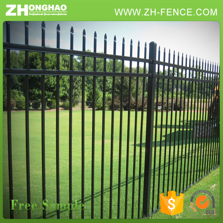High Quality Anti Corrupt Zinc Tubular Steel Fence