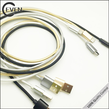 FAST CHARGING usb3.1 type c cable gold braid usb type c cable