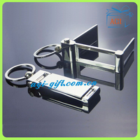 mobile phone special metal keychain
