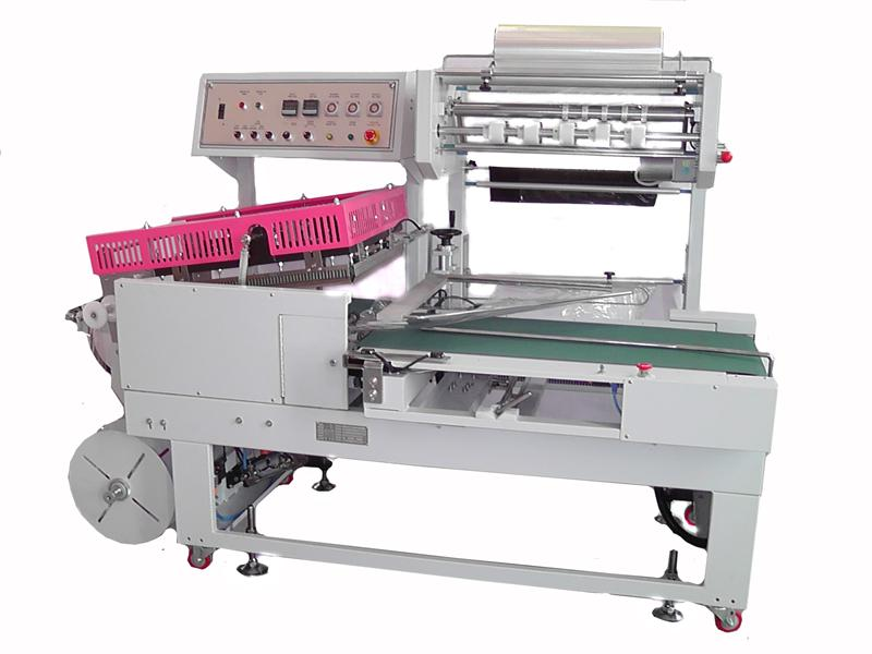 l sealing type shrink wrap machine pallet wrapper machine nagema wrapping machine