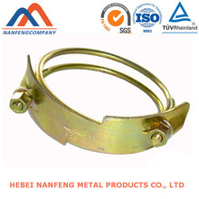 Metal Bracket for Pipes Processing Color Zinc Plated Metal Bracket for Pipes