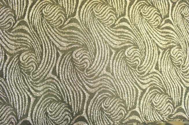RAYON METALLIC JACQUARD FABRIC