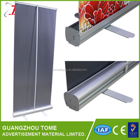 High quality retractable green screen, pull up banner