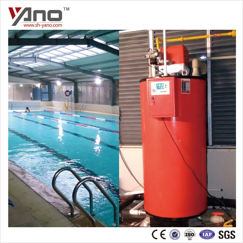CE&ISO Certificated Swimming Pool Heater 35-1000kg/h Automatic Machine Vertical Gas Steam Boiler