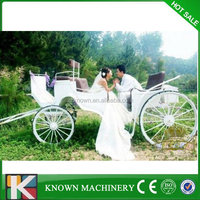 Hot selling European style wedding horse carriage for sale