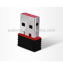 2014 hot seller 150Mbps Mini USB Wifi Adapter Wireless N LAN network Card