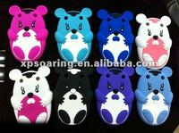 mouse silicon case skin cover for Blackberry curve 9320 9220