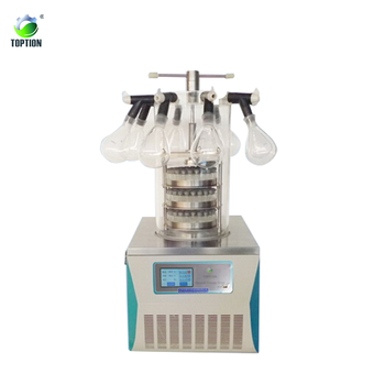Laboratory Mini Multi-pipe Top-press Freeze Dryer TOPT-10D