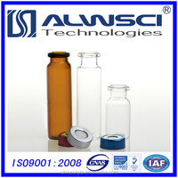 China 20ml vial and flip off cap with PTFE silicone septa