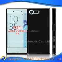 clear tpu soft cell phone case accessories for SONY F5321 X compact tpu soft cover