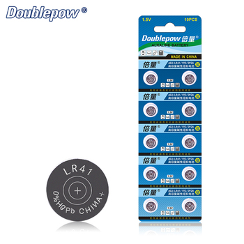 Hot Sale 10pcs LR41 1.5V Alkaline Button Cell Battery Coin AG3, LR41, 192, 392A