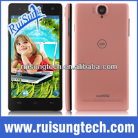 "5.0"" Xiaocai X9+ 960*540 8.0MP MTK6582 Quad Core Android 4.2 1.3GHz Phone 3G GPS QHD OGS -Pink"