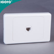 AS324-V Australian standard 1 G data socket (CAT6) SAA approval factory manufacture Clipsal 10A wall <strong>switch</strong>