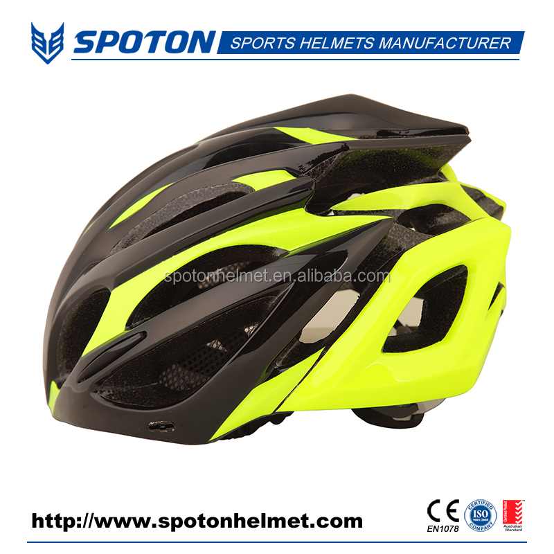 Popular style adult road bike helmet China, racing bike helmet