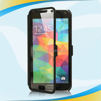Free sample multi stand for samsung galaxy s5 case full touch screen
