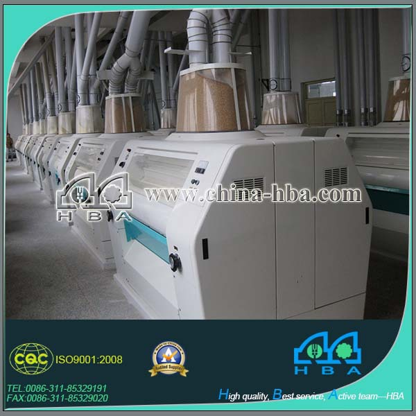 chinese flour roller milling machinery