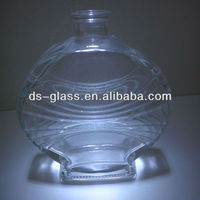 graceful perfume glass bottle