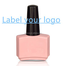 Label your logo water based peel able nail polish with OEM