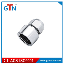 Manufacturer brass female nipple thread fitting with chrome plated