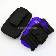 3 in 1 heavy duty kickstand hybrid combo case for Blackberry Q10