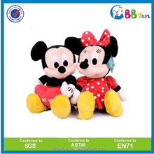 ICTI factory directly plush Mickey and Minnie mouse stuffed soft mickey kids toys