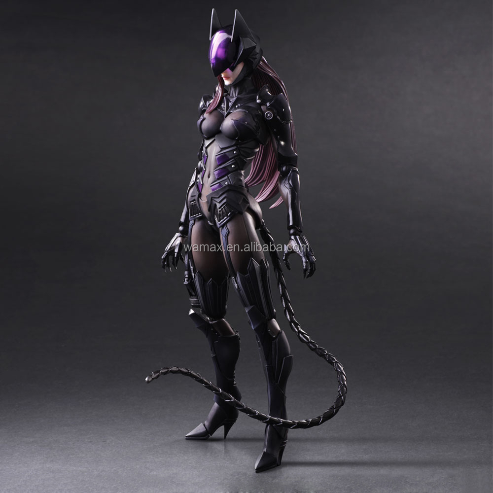 2015 hot-selling PVC Female cat girl action figures supplier,Custom cat girl figure
