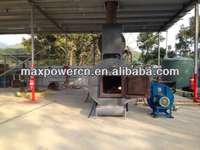 semi solid trash burner factory from maxpower