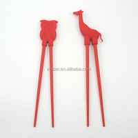 (SG044)Funny animal pair silicone chopstick