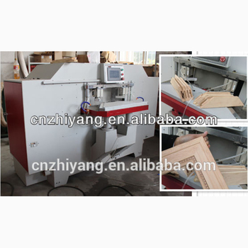 45 degree window frame making machine /CNC mortising and tenoning machine