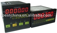 Digital Preset Batch And Total Counter, 2 Preset Pulse Counter, Digital Batch Total Counter Meter (IBEST)