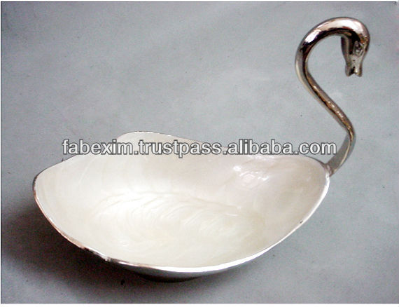 Deep Enamel Dry Fruit Bowl , Decorative Fruit Bowl