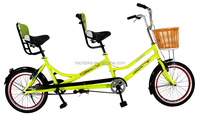 20 inch tandem bike / single speed tandem bicycle / aluminum alloy bicycle frames