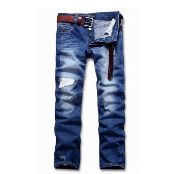 True men Factory A Wholesale US Traditional for fashion Jeans Distressed Denim Pants