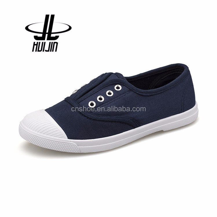 Wholesale China popular custom logo design canvas shoes
