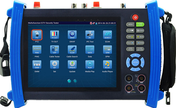Cheap 7 tft-lcd touch screen ipc-8600 ipc cctv tester