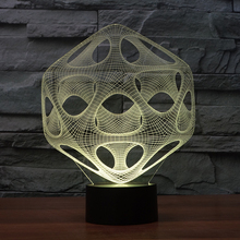 FS-3072 Abstraction Lamp Led Gift Items 3D Lamp