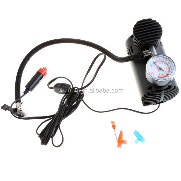 Z60014 Air Compressor Pump 12V 300 PSI Car Auto Electric Tire Inflator Portable
