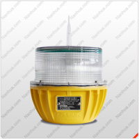 Solar powered LED Warning Beacon/solar power light for telecom towers